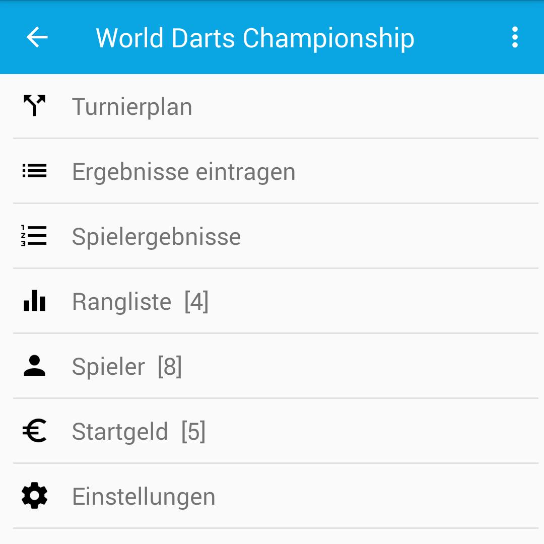 Turnier durchführen